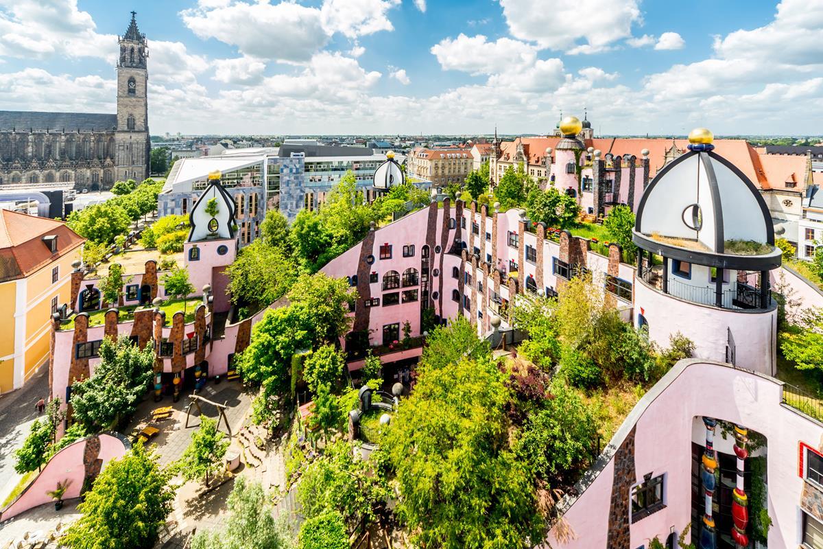 Hundertwasser Grüne Zitadelle Gallery